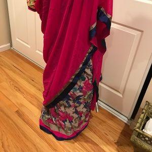 Beautiful printed sari
